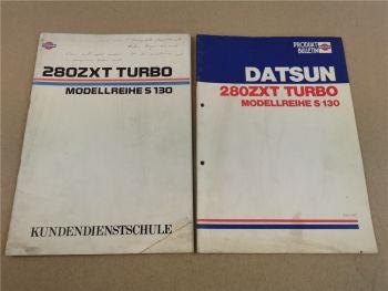 Nissan Datsun 280ZXT Turbo Kundendienstschule & Vorstellung Produkt Bulletin