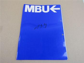 Isuzu 3LA1 3LB1 3LD1 Bedienungsanleitung für MBU IHI Bagger Typ 18J ca 1995