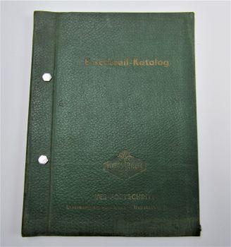 VEB Fortschritt E 069 Schlegelhäcksler Ersatzteilliste 1963 Ersatzteilkatalog