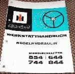 IHC 554 644 744 844 Reparaturhandbuch Regelhydraulik