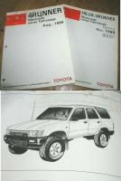 Toyota Hilux, 4Runner Merkmale neuer Fahrzeuge Handbuch