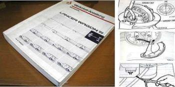 Mitsubishi Lancer Wagon Werkstatthandbuch 1989