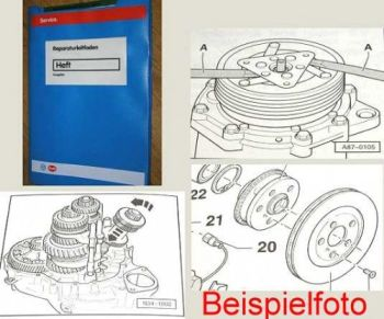 Audi 100 + 200 Werkstatthandbuch 2,23l K Jetronic Turbo