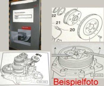 Audi Cabriolet Kraftstoffversorgung Reparaturhandbuch