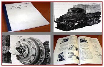 G5 LKW Werkstatthandbuch 1958