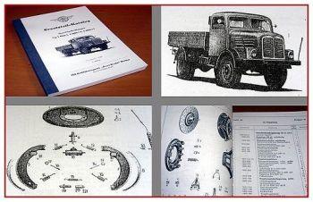 S4000 LKW Ersatzeilliste 1959
