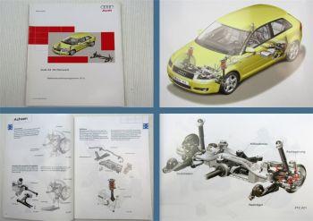 SSP 313 Audi A3 8P ab 2004 Fahrwerk Selbststudienprogramm