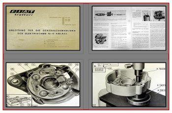Fiat 250 bis 900 Werkstatthandbuch Elektrik 12V Anlage