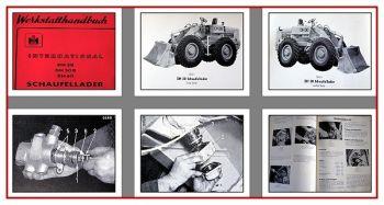 IHC DH30, DH50B, DH60 Schaufellader Werkstatthandbuch