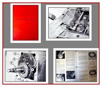 IHC 743XL, 745XL, 844XL, 856XL Reparaturhandbuch 1987