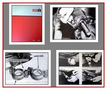IHC 743 745 844 856 956 1056 + XL Reparaturhandbuch Instandsetzung Allradachsen