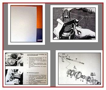 Case C42 C48 C55 C64 C70 Steyr 942 ... Traktor Reparaturhandbuch Service Manual