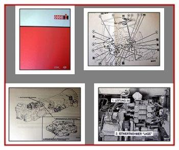 Werkstatthandbuch Case Maxxum 5120 - 5150 Reparaturhandbuch 1994