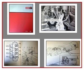 Case 5120 5130 5140 5150 Reparaturhandbuch Elektrik 1990