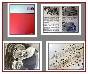 Reparatur Case Maxxum Plus / Pro Werkstatthandbuch 1996