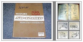 Werkstatthandbuch Suzuki Grand Vitara SQ420WD RF Reparaturanleitung 1998