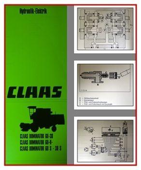 Claas Dominator Werkstatthandbuch Elektrik Hydraulik
