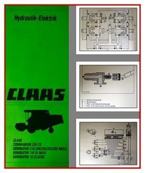 Claas Commandor & Dominator Werkstatthandbuch 1994