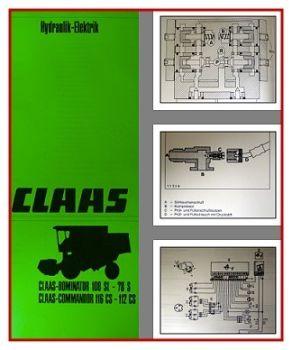 Claas Commandor & Dominator Werkstatthandbuch 1986