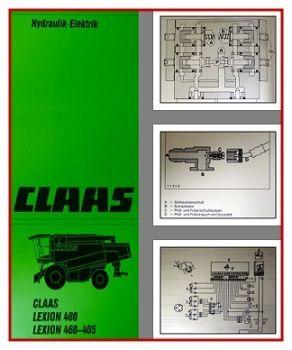 Claas Lexion 405 410 415 420 430 440 450 460 480  Werkstatthandbuch 1997