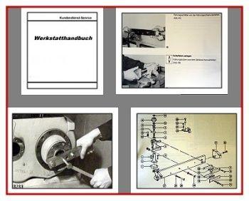 Claas Jaguar 682S - 695 SL Mega Werkstatthandbuch 1991