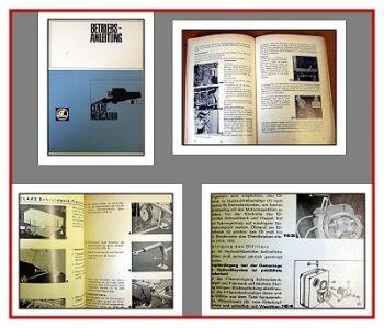 Claas Mercator Mähdrescher Betriebsanleitung 1967