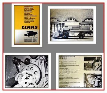Claas Dominator 78 - 118 S + SL Betriebsanleitung 1990