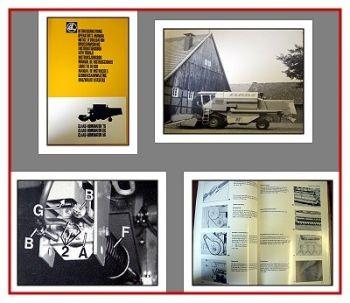 Claas Dominator 56 66 76 Betriebsanleitung 1980