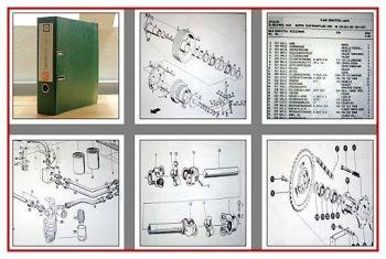 Claas Dominator 38 Mähdrescher Ersatzteilliste 1986