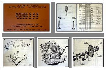 MWM D325, D327 Dieselmotor Ersatzteilliste