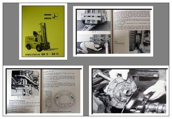 Fiat OM BM12, BM15 Gabelstapler Bedienungsanleitung