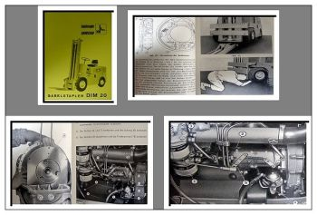Fiat - OM DIM 20 Gabelstapler Bedienungsanleitung