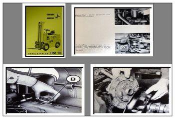 Fiat - OM DM 15 Gabelstapler Bedienungsanleitung