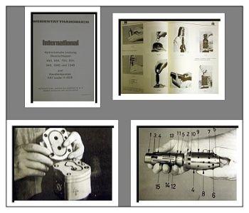 IHC / Mc Cormick 553 bis 1246 Werkstatthandbuch Lenkung