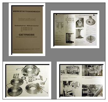 IHC 321 431 531 541 Mähdrescher Getriebe Werkstatthandbuch