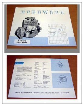 Borgward Hansa Lloyd D6M5/II Bootsmotor Prospekt