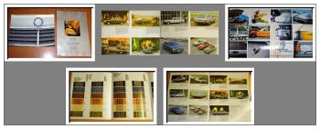 Mercedes Benz Programm & Polster Prospekte 2x 1977/81