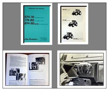 Bedienung Wartung Lamborghini 674-70 774-80 874-90 Grand Prix Betriebsanleitung