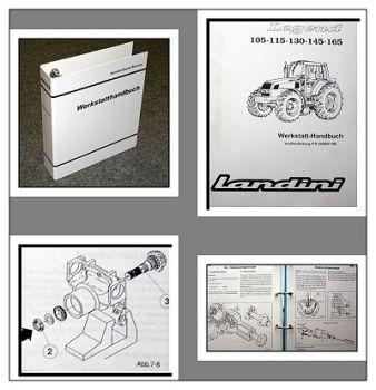 Landini Legend 105, 115, 130, 145,165 Werkstatthandbuch