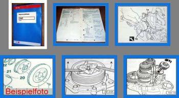 VW Polo Classic Typ 6V Getriebe 02K Werkstatthandbuch