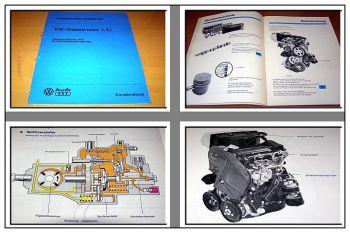 SSP 14 1,5l Dieselmotor Selbststudienprogramm VW Golf I Jetta Caddy CK