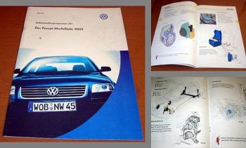 SSP 251 VW Passat B5 MJ 2001 Konstruktion + Funktion 00