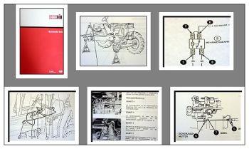 Werkstatthandbuch Case 4210 4220 4230 4240 Schaltpläne