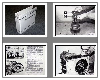 Case CS78, CS86, CS94 + Allrad Werkstatthandbuch Steyr