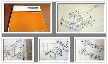 Case 100 Duplexwalze Ersatzteilkatalog 1985-88