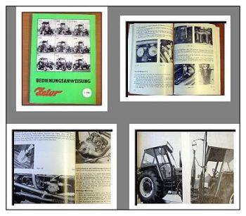 Zetor 5211 bis 7745 Traktor Betriebsanleitung 1986