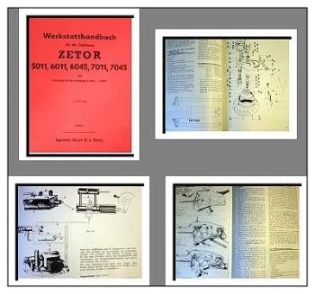 Reparaturanleitung Zetor 5011, 6011, 6045, 7011, 7045 Werkstatthandbuch