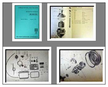 RS 09/124 Geräteträger Ersatzteilliste