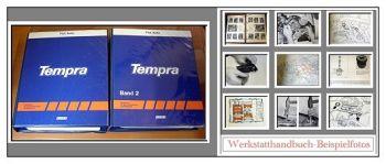 Reparaturanleitung Fiat Tempra Werkstatthandbuch 1990-1992 2 Bände