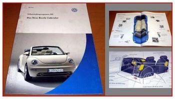 SSP 281 Selbststudienprogramm VW New Beetle 9C Cabriolet Cabrio